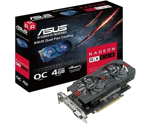 Radeon RX 560 Graphics Card