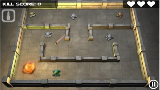 Tank Hero battle screenshot