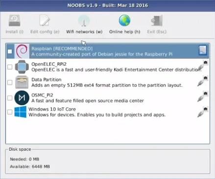Installa facilmente un sistema operativo Raspberry Pi con NOOBs