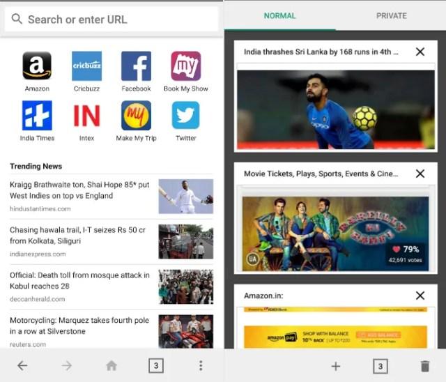 mobile browser alternatives