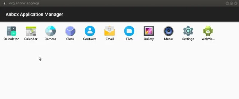 Android Anbox Application Manager