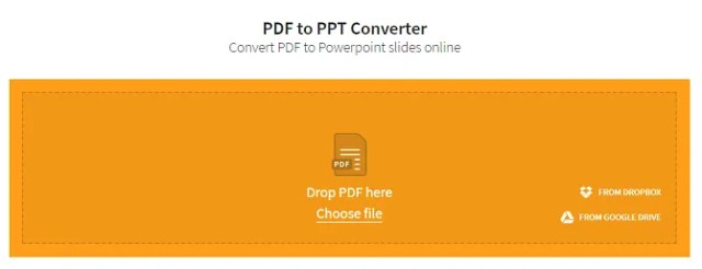 convert pdf to powerpoint presentation