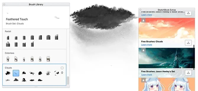 free brushes - What Is SketchBook? The Best Free Drawing App for Artists and Designers