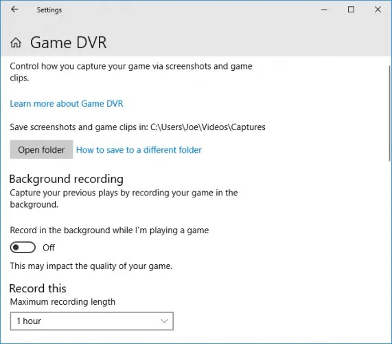 game dvr 571x500 - How to Record and Stream Games Online in Windows 10