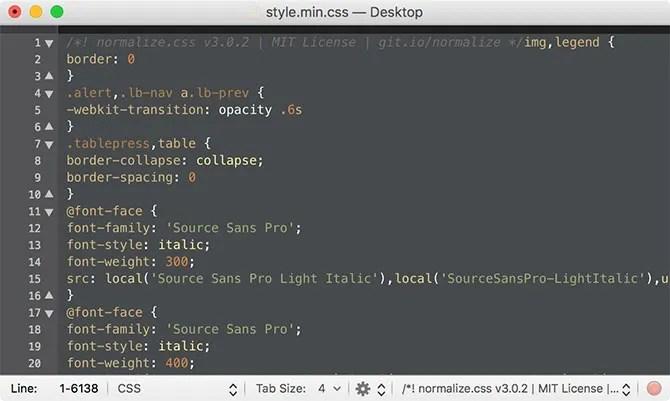 TextMate текстовый редактор Mac