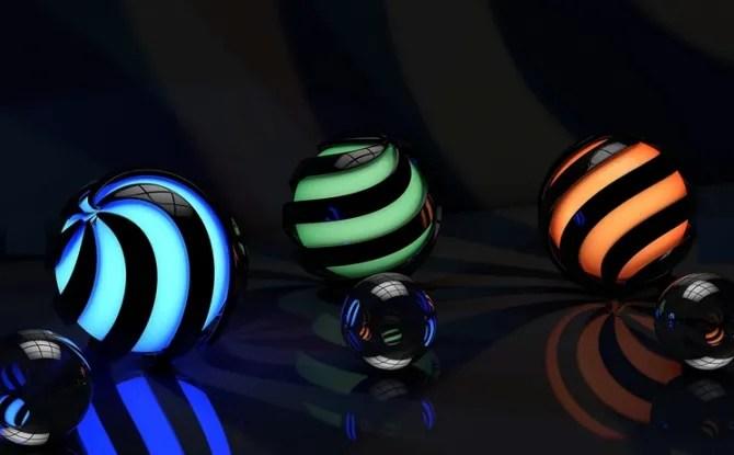 3D Theme, темная тема HD для Windows 10