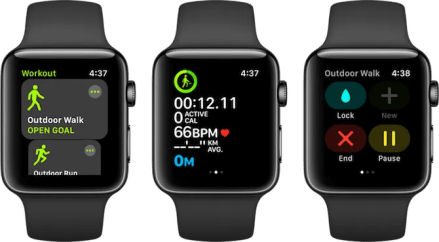 Apple Watch Fitness Apps Workouts