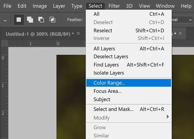 Photoshop Select Color 1 - How to Select All of the Same Color in Photoshop