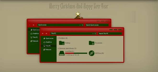 christmas theme 670x305 10 of the best windows 10 themes for every desktop