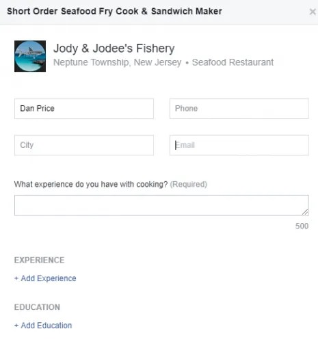 facebook job apply 465x500 - 7 Facebook Search Tips to Find What You're Looking For