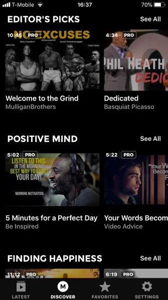 motivate discover 335x596 - 5 Motivational Apps for iPhone to Help You Think Positive
