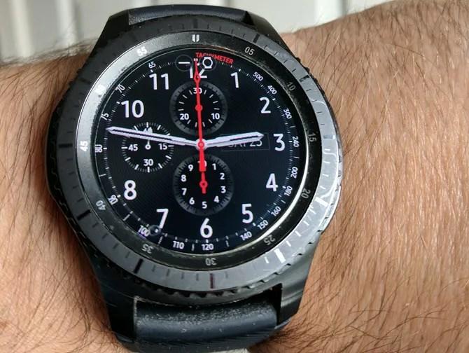 Samsung Gear Watch Face