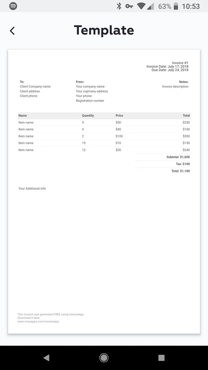 Invoice Mini Makes Mobile Invoice Creation Easier Than Ever