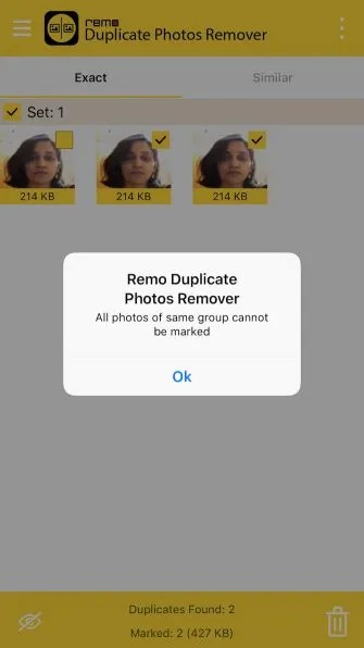 remo error message ios 335x596 - Clean Up Bad iPhone Photos With These 5 Decluttering Apps