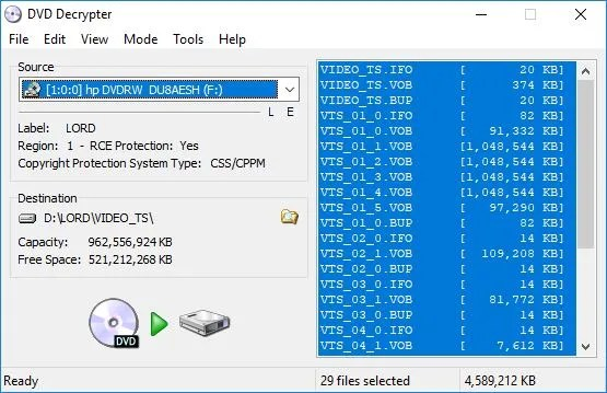 The 10 Best Tools for Ripping DVDs and Blu rays to Your Computer DVD Decrypter - The 11 Best Tools for Ripping DVDs and Blu-rays to Your Computer