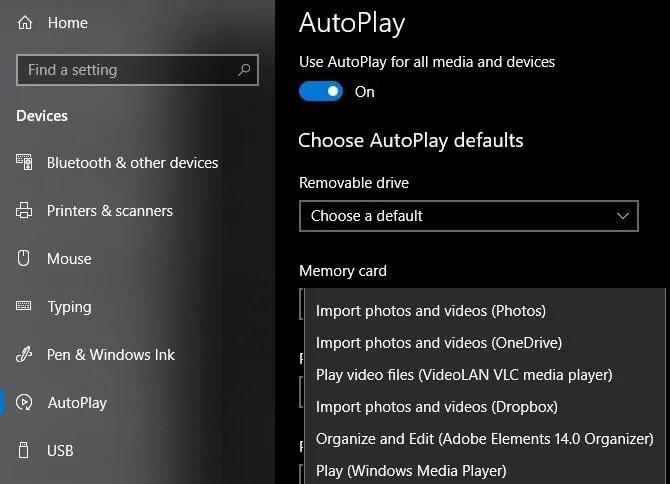 Окна-10-AutoPlay-Настройка