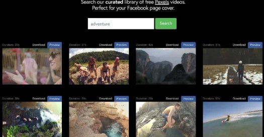 download free cover videos for facebook pages