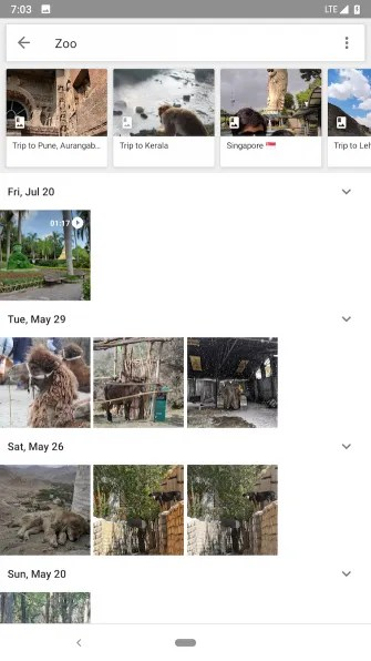 google photos 2 335x596 - 6 Smart Photo Management Apps for Android for Easy Sorting