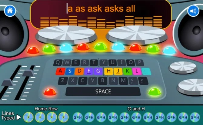 DanceMatTyping web - 10 Sites and Games to Teach Kids Typing the Fun Way