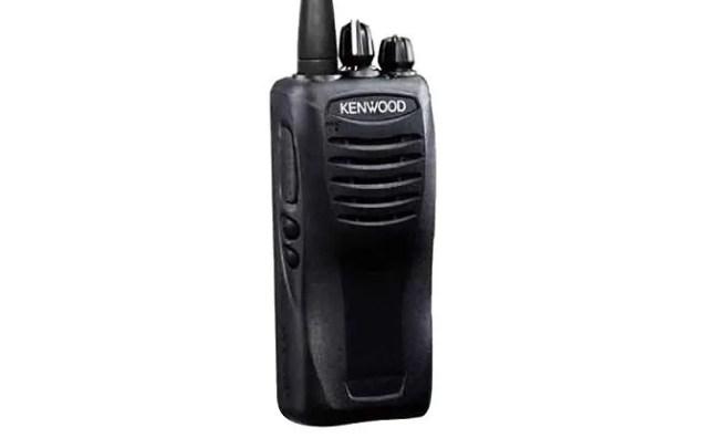 kenwood two way radio front