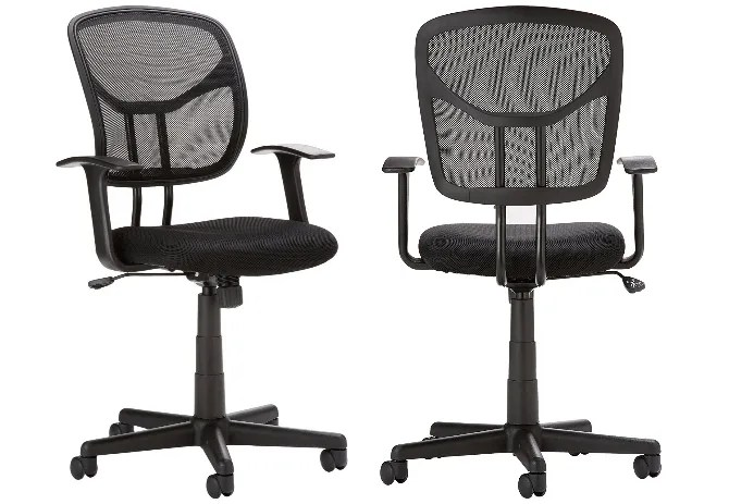 good computer chairs oversized circle swivel chair the 7 best cheap for students on a budget amazonbasics mid back mesh is 50
