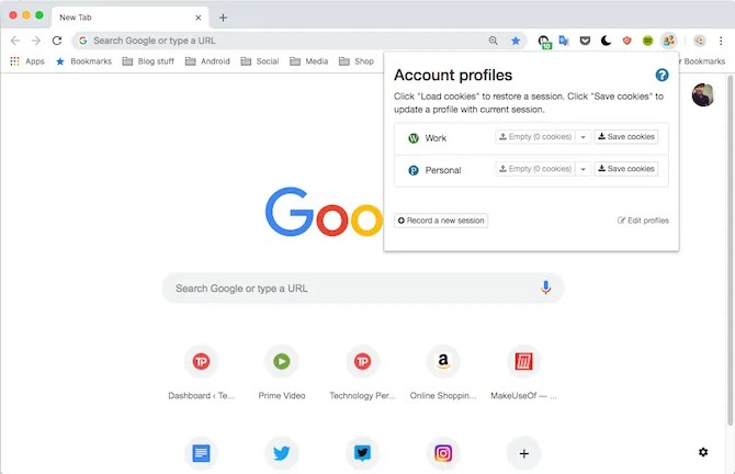 How to Manage Multiple Browsing Sessions in Google Chrome