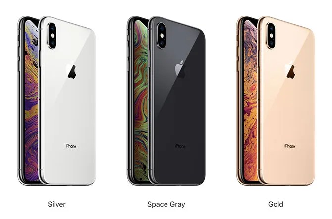 iphone xs max colors - Apple's 2018 Event: 3 New iPhones and a New Apple Watch