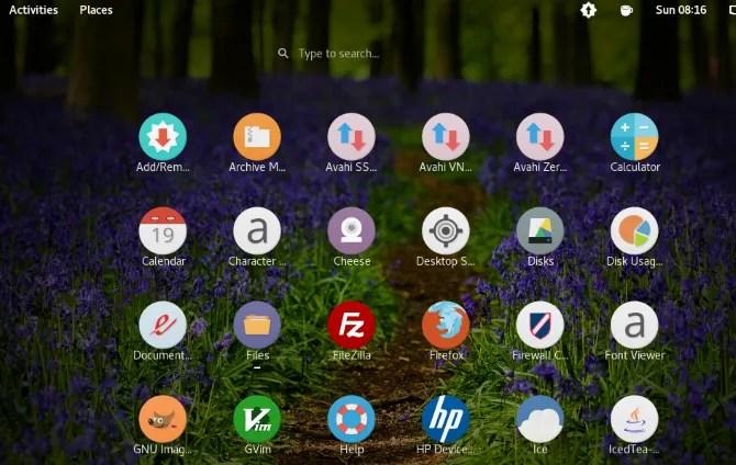 Luv icon pack для Linux