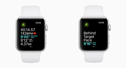 watchOS 5 Running Features