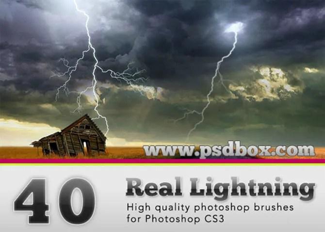 Spazzole di Lightning Bolt
