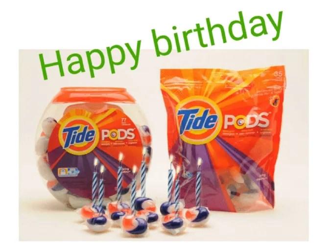 Compleanno di Tide Pods Meme