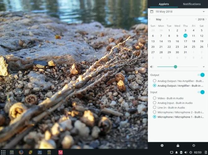 L'ambiente desktop di Budgie