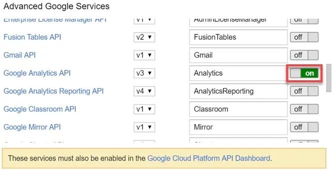 servizi google avanzati