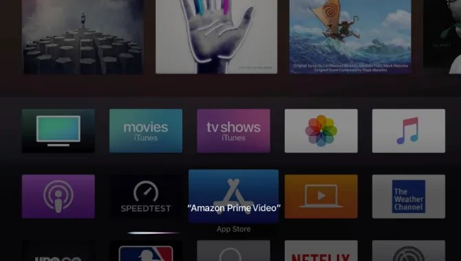Siri di Amazon Prime Video App