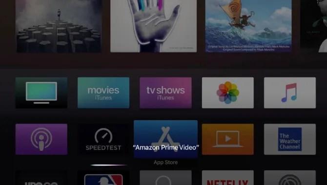 Siri di Amazon Prime Video App