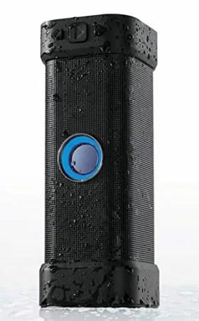 grande diffusore blu di brookstone