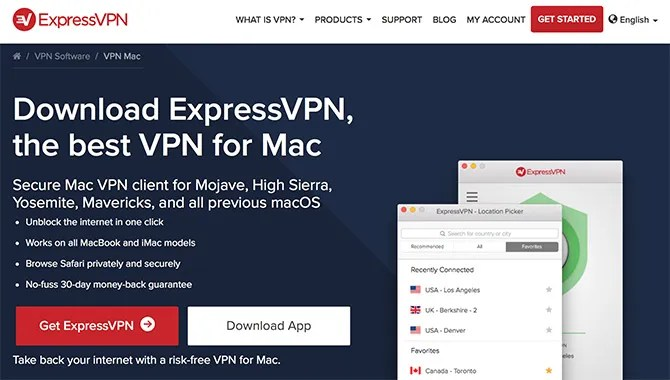 Download Express VPN for Mac