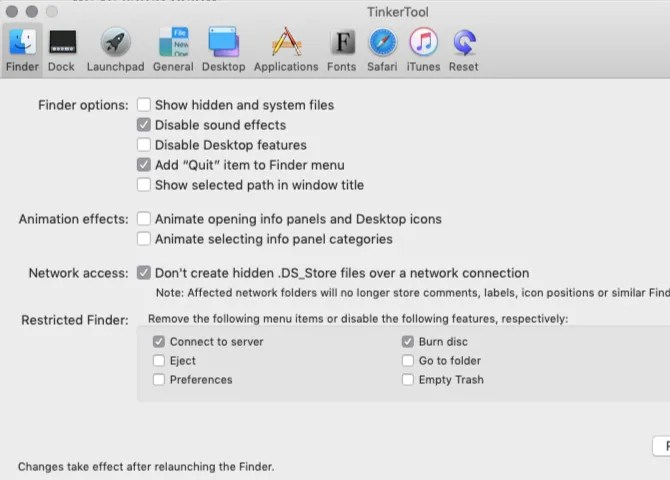 finder-panel-in-TinkerTool-on-mac