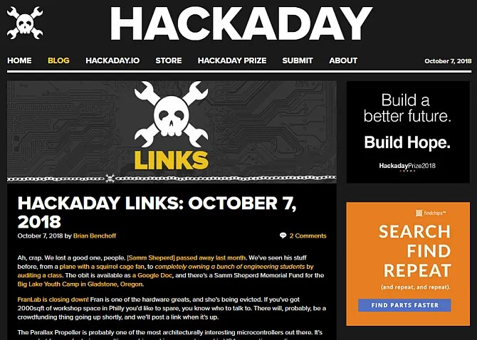 blog di hackaday