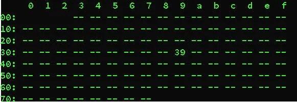 Utilità IC-Detect che segnala l'indirizzo del sensore di lux
