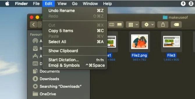 annullare la ridenominazione batch su macOS
