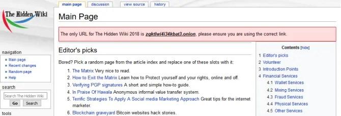 il wiki nascosto per il 2018