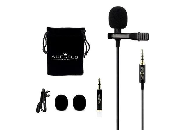 Microfono a condensatore omnidirezionale AUFGELD