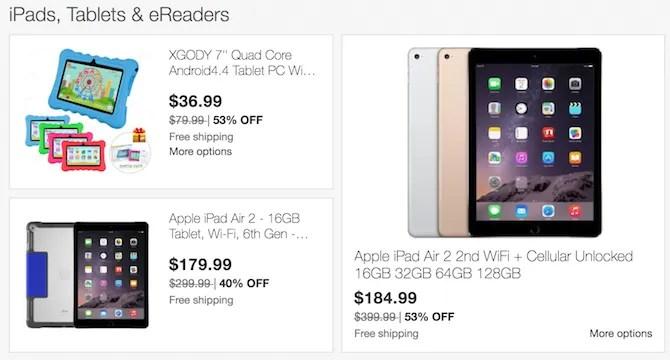tablet-ebay-nero-venerdì