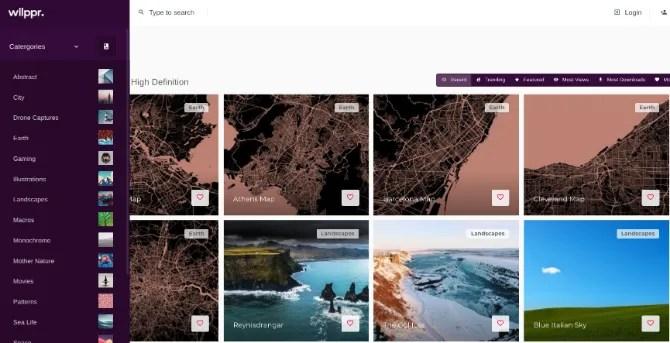 Wllppr è una comunità di appassionati di wallpaper