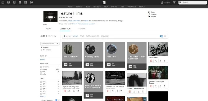 The 5 Best Sites for Public Domain Movies