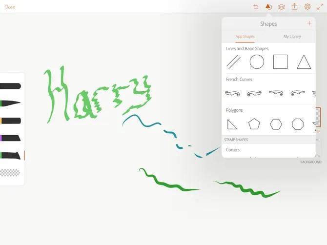 Adobe Illustrator Draw Apple Pencil Vector Shapes
