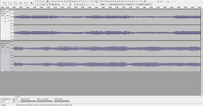 Audacity Free Audio Editor