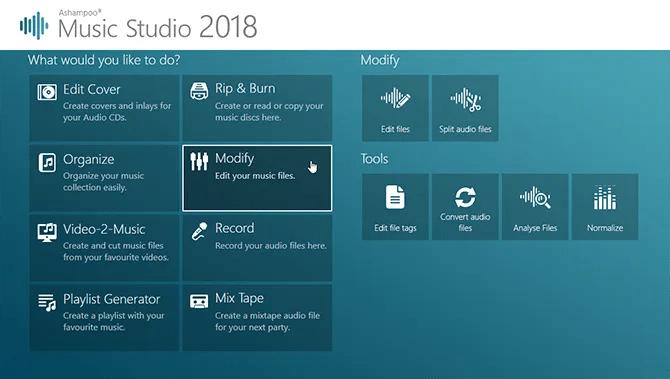 Ashampoo Music Studio 2018
