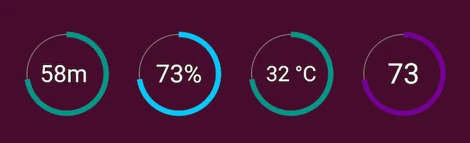 best battery widget Android